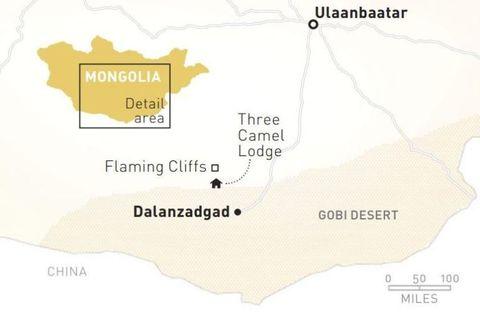 Exploring Mongolia\'s Gobi Desert
