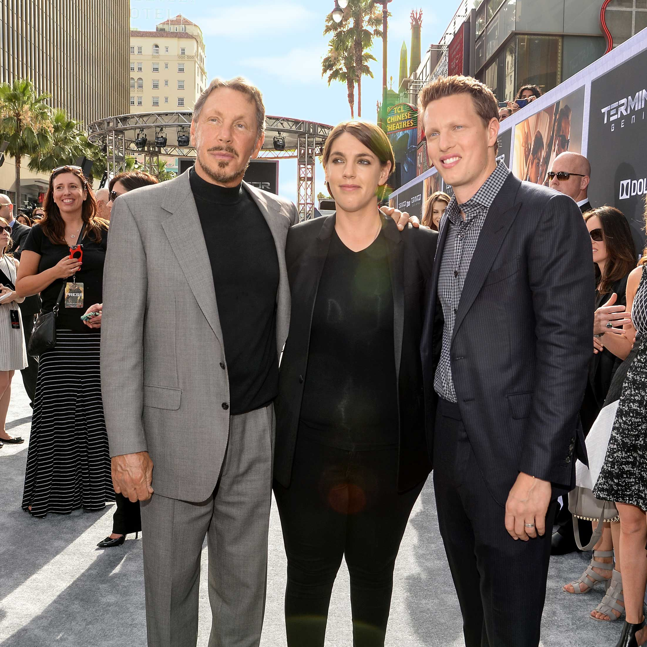 "<p>Between mega-producers Megan and David, the siblings nearly have a monopoly on Hollywood blockbusters. Dad is Oracle founder Larry.&nbsp&#x3B;</p><p><strong data-redactor-tag=""strong"" data-verified=""redactor"">Bragging rights:</strong> Megan spent $40 million on five West Hollywood buildings to house her empire.</p>"