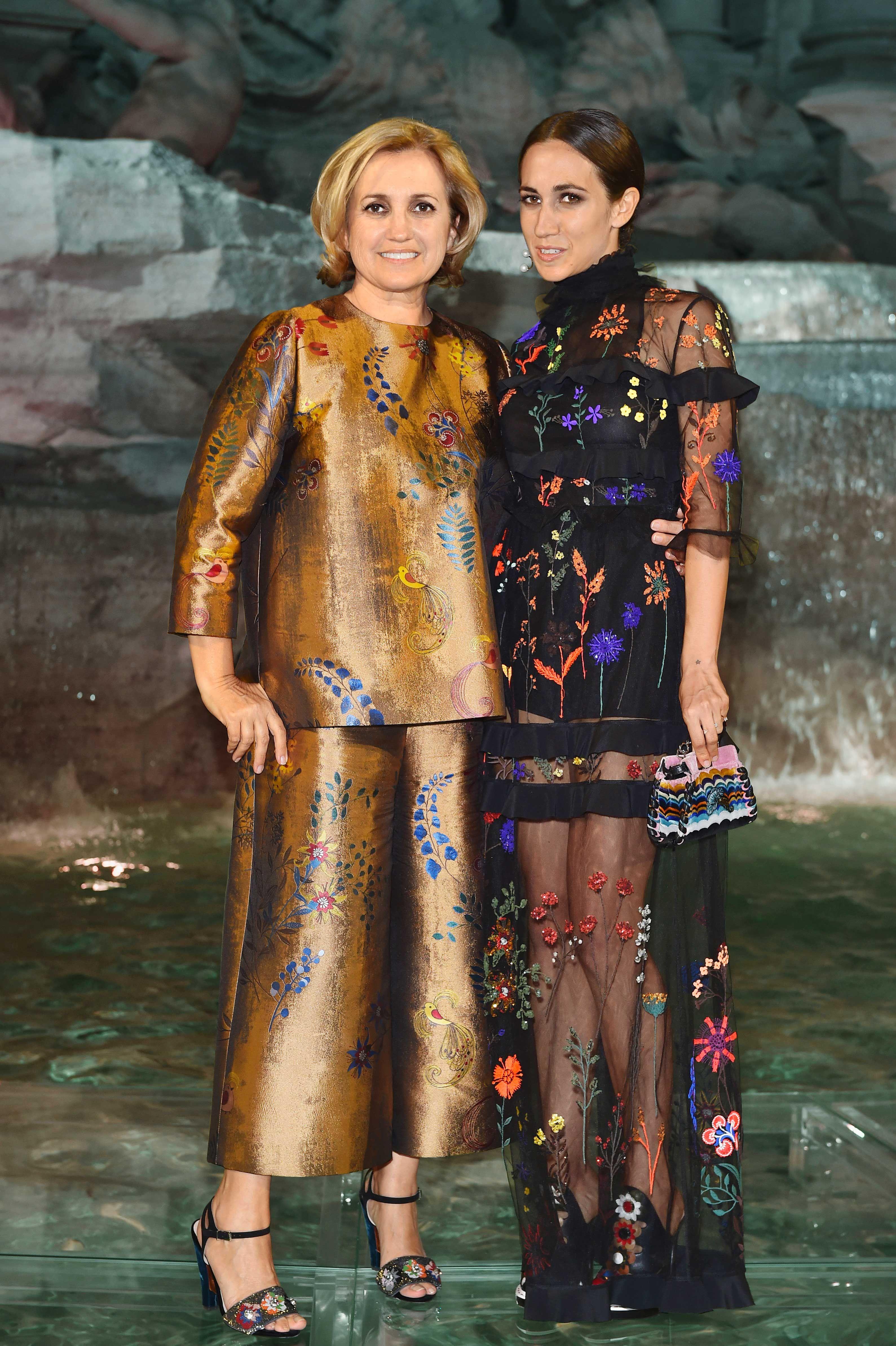 Silvia Venturini Fendi And Her Daughter Delfina Delettrez Collaborate On A Collection Of Watches