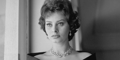 Jewellery, Shoulder, Style, Monochrome, Monochrome photography, Eyelash, Neck, Black-and-white, Day dress, Model,