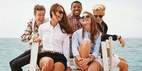 Eyewear, Face, Vision care, Smile, Fun, People, Sunglasses, Social group, Tourism, Leisure,
