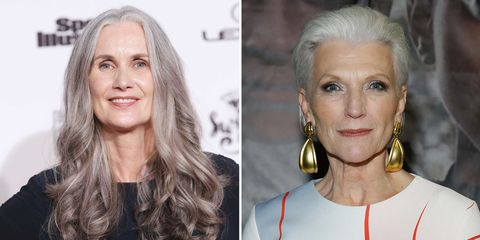 These 8 Models Will Give You Gray Hair Goals