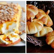 Food, Cuisine, Finger food, Ingredient, Dish, Baked goods, Recipe, Bread, Snack, Canapé,