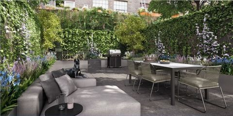 Furniture, Table, Couch, Residential area, Outdoor table, Coffee table, Outdoor furniture, Garden, Design, Patio,