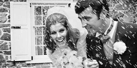 Photograph, White, Black-and-white, Bride, Wedding dress, Monochrome photography, Monochrome, Dress, Snapshot, Bridal clothing,