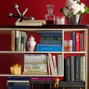 Shelf, Shelving, Publication, Room, Collection, Bookcase, Book, Cut flowers, Book cover, Artificial flower,