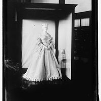 "<p>James Buchanan was a bachelor and assigned&nbsp&#x3B;the duties of First Lady to his niece, Helen Lane Johnston. Her inaugural gown (which was accessorized with flowers) was considered shocking at the time for its <a href=""http://www.post-gazette.com/life/lifestyle/2006/12/05/The-first-first-lady-Buchanan-s-niece-enlivened-social-scene/stories/200612050130"" target=""_blank"" data-tracking-id=""recirc-text-link"">low-cut ""European"" style</a>.&nbsp&#x3B;</p>"