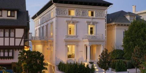 Window, Property, Facade, Real estate, Home, Residential area, Building, House, Villa, Door,