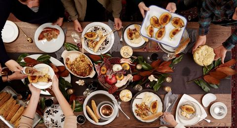 Here's Exactly When to Cook Every Dish for Thanksgiving Dinner - Thanksgiving Cooking Timeline - Delish.com