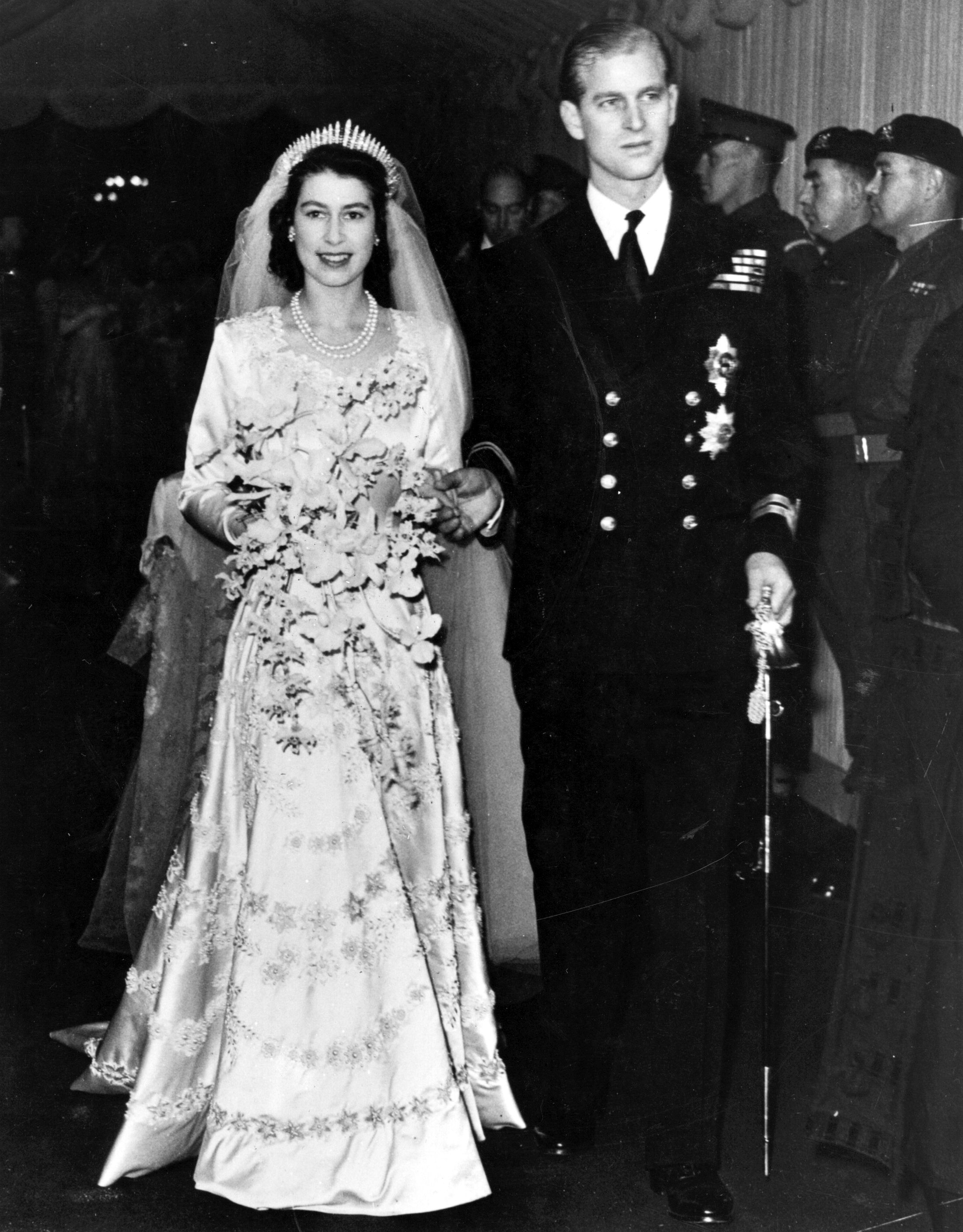 Queen Elizabeth's Wedding - Queen Elizabeth II Wedding to Prince