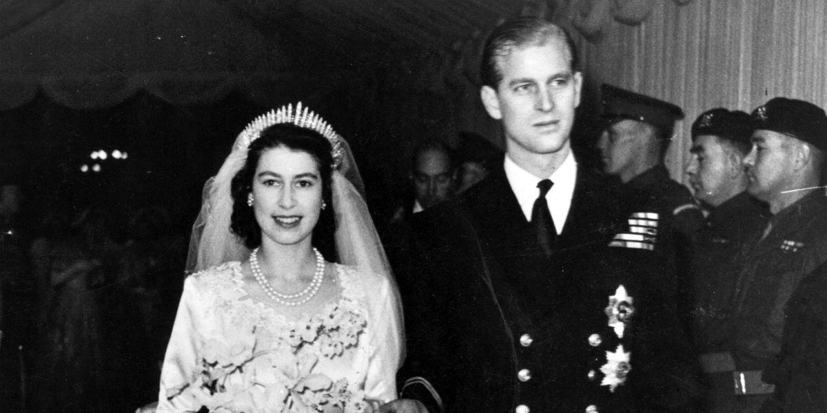 Queen Elizabeth 39 S Wedding Queen Elizabeth Ii Wedding To