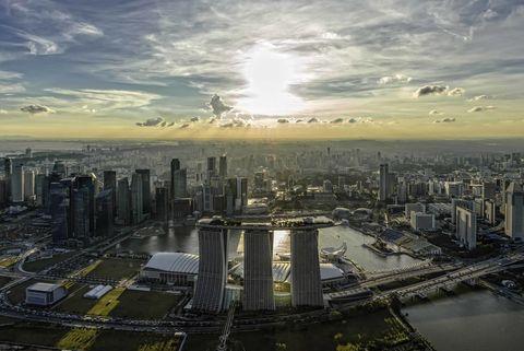 Cityscape, Metropolitan area, City, Urban area, Metropolis, Sky, Skyline, Aerial photography, Skyscraper, Daytime,