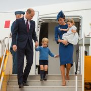 royal family traveling