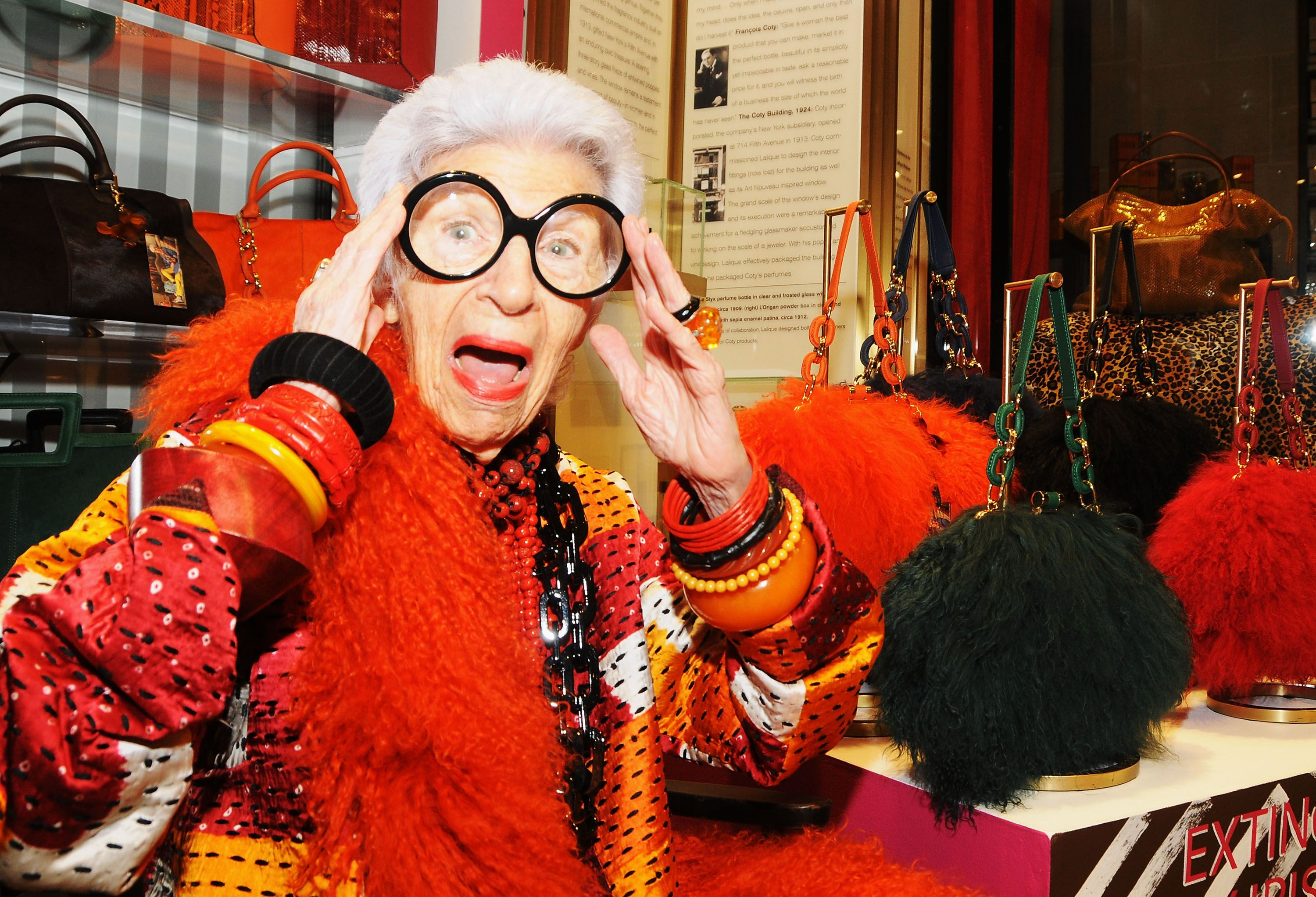 Iris Apfel is getting her own line of emojis foto