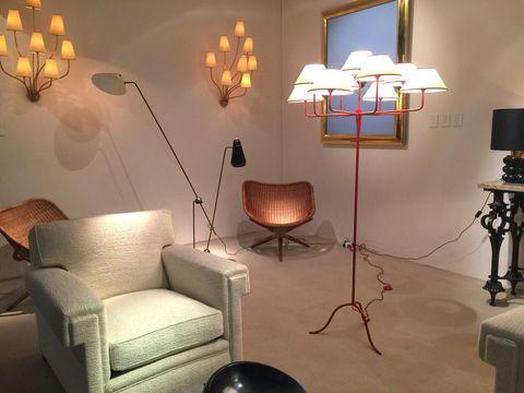 Lighting, Room, Interior design, Wall, Lighting accessory, Floor, Interior design, Lampshade, Lamp, Light fixture,