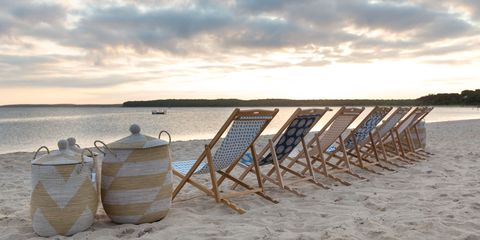 Coastal and oceanic landforms, Sand, Shore, Horizon, Sunlight, Beach, Cumulus, Coast, Basket, Evening,