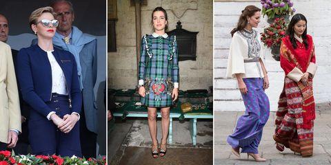 Clothing, Sleeve, Collar, Textile, Pattern, Style, Street fashion, Fashion, Purple, Blazer,