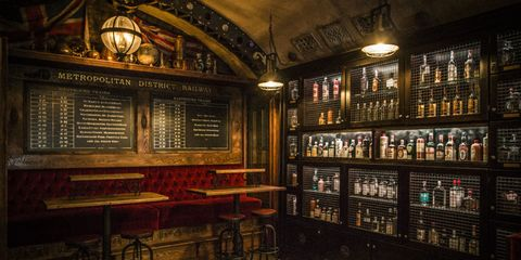 Drinking establishment, Distilled beverage, Tavern, Stool, Barware, Shelf, Bottle, Alcohol, Pub, Bar,