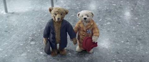 Organism, Brown, Yellow, Toy, Vertebrate, Photograph, White, Bear, Terrestrial animal, Stuffed toy,