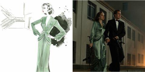 Standing, Photograph, Formal wear, Style, Fashion, Blazer, Art, Fashion illustration, Fashion design, Costume design,