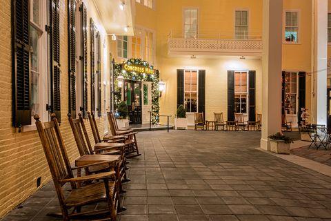 Building, Town, Floor, Architecture, Flooring, Furniture, Tile, Interior design, Tree, City,
