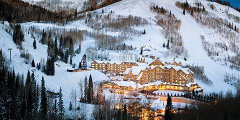 Winter, Snow, Mountain, Natural landscape, Freezing, Sky, Wilderness, Tree, Geological phenomenon, Mountain range,