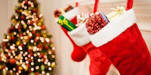 Event, Christmas decoration, Red, Christmas eve, Christmas stocking, Christmas ornament, Holiday, Christmas tree, Carmine, Interior design,