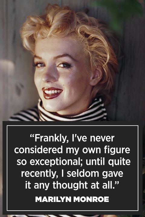 "<p><a href=""http://intothegloss.com/2014/06/marilyn-monroe-quotes/"" target=""_blank""><em>Pageant Magazine</em></a>, 1952</p>"