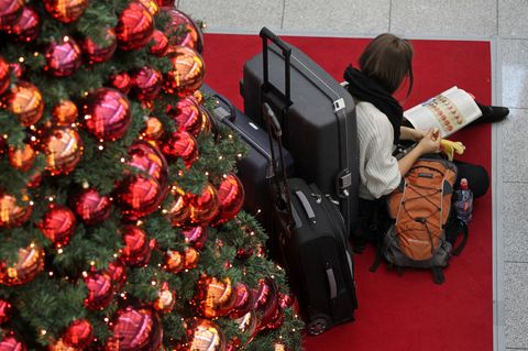 airport christmas