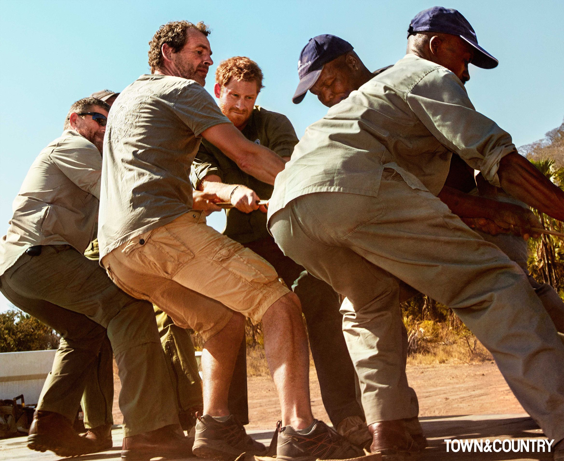 Prince Harry Interview - Prince Harry Joins African Parks in Fight ...