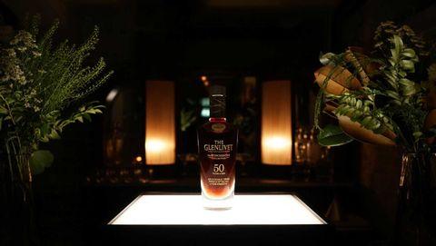 Glass bottle, Liquid, Bottle, Drinkware, Fluid, Alcohol, Drink, Alcoholic beverage, Distilled beverage, Barware,