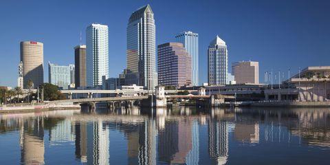 Tower block, Daytime, Reflection, Metropolitan area, Architecture, City, Urban area, Metropolis, Property, Condominium,