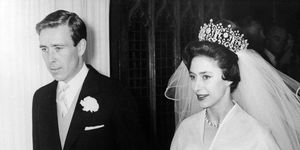 Princess Margaret wedding day