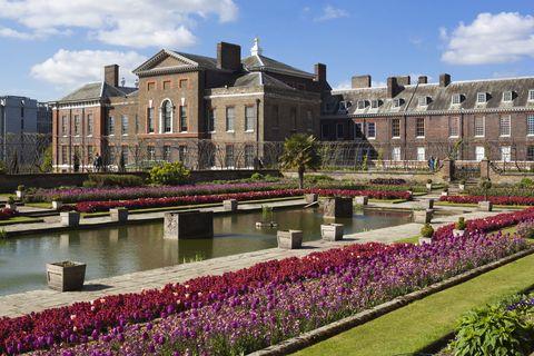 Plant, Garden, Purple, Lavender, Building, Shrub, Groundcover, Mansion, Landscaping, Estate,