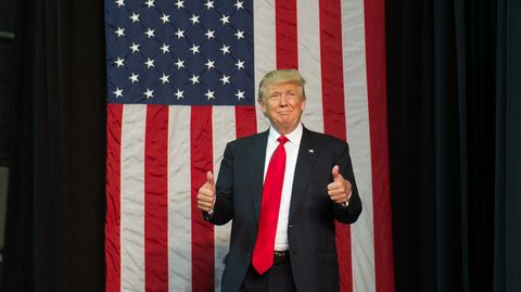 Donald Trump Tie Length