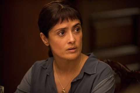 "<p>Beatriz, a health care worker and immigrant from Mexico, finds herself sparring across a client's dinner table with a smug billionaire after a broken-down car leaves her stranded at the residence. Expect memorable repartee from Salma Hayek's title character; the film was penned by the sharp, perceptive Mike White.<span class=""redactor-invisible-space"" data-verified=""redactor"" data-redactor-tag=""span"" data-redactor-class=""redactor-invisible-space""></span></p>"