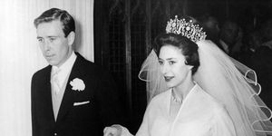 Princess Margaret, Lord Snowdon wedding day