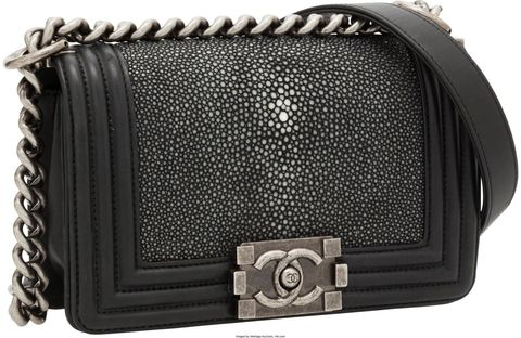 A Chanel Stingray Boy Bag That Heritage Auctions Sold For 5 625