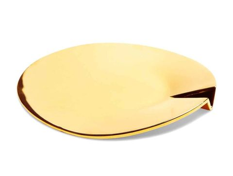 """<p>$2,000, <a href=""""http://www.shop-tetra.com/collections/joe-doucet/products/24k-gold-ashtray?variant=7010619075"""" target=""""_blank"""" data-tracking-id=""""recirc-text-link"""">shop-tetra.com</a></p>"""