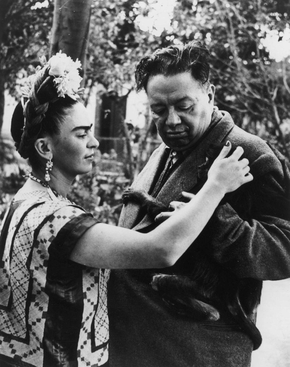 Diego Rivera and Frida Kahlo