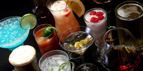 Drink, Barware, Alcoholic beverage, Tableware, Drinkware, Liquid, Ingredient, Cocktail, Highball glass, Juice,