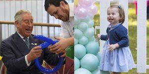 prince charles balloons