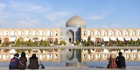 Architecture, Arch, Tourism, Dome, Landmark, Dome, Travel, Arcade, Byzantine architecture, Mosque,