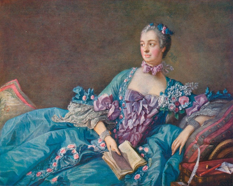 Louis XV of France and Madame de Pompadour