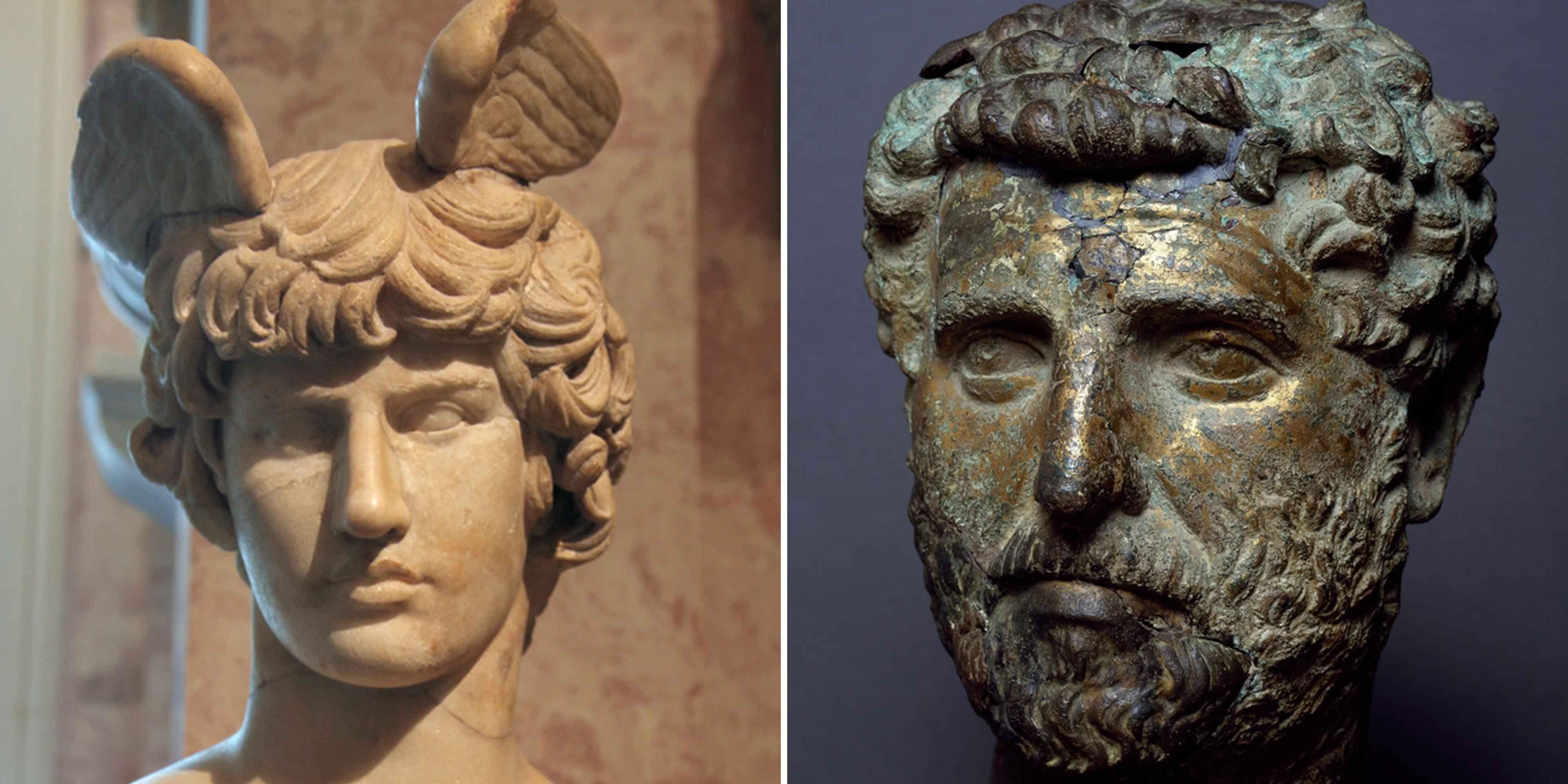 Hadrian and Antinous