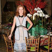 Dress, Furniture, One-piece garment, Day dress, Chair, Bouquet, Cocktail dress, Artificial flower, Flower Arranging, Floristry,
