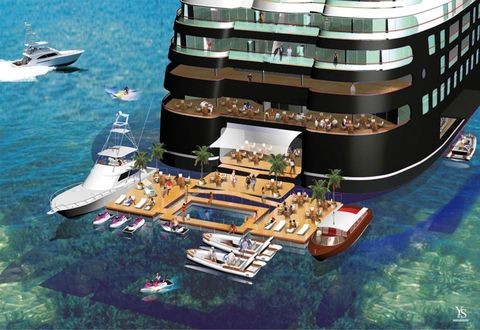 World S Largest Yacht Quintessentially Floating Members Club