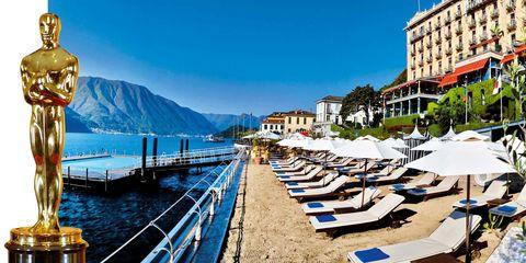 Town, Dock, Sunlounger, Mountain range, Outdoor furniture, Resort town, Resort, Apartment, Beach, Pier,