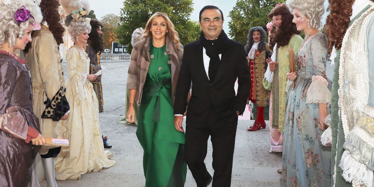 Carole And Carlos Ghosn Threw A Wedding Fit For A King And