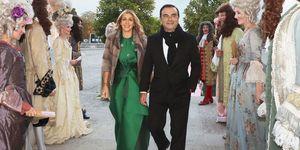 Carole and Carlos Ghosn Wedding